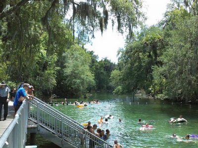 Blue Spring State Park - the springs