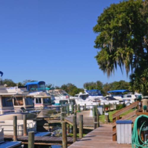 St. Johns RIver marinas and Camps